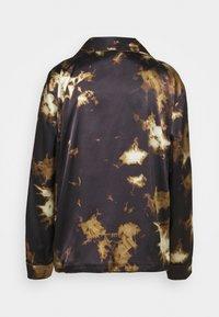 Alexa Chung - PYJAMA - Pyjama top - black/brown - 6