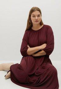 Violeta by Mango - Day dress - granatrot - 4