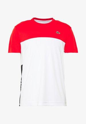 T-shirt con stampa - corrida/white/black
