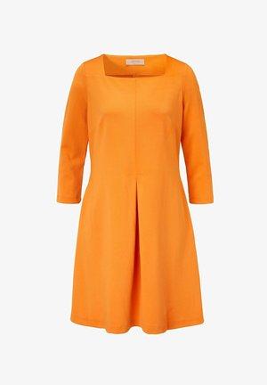 Jersey dress - apricot