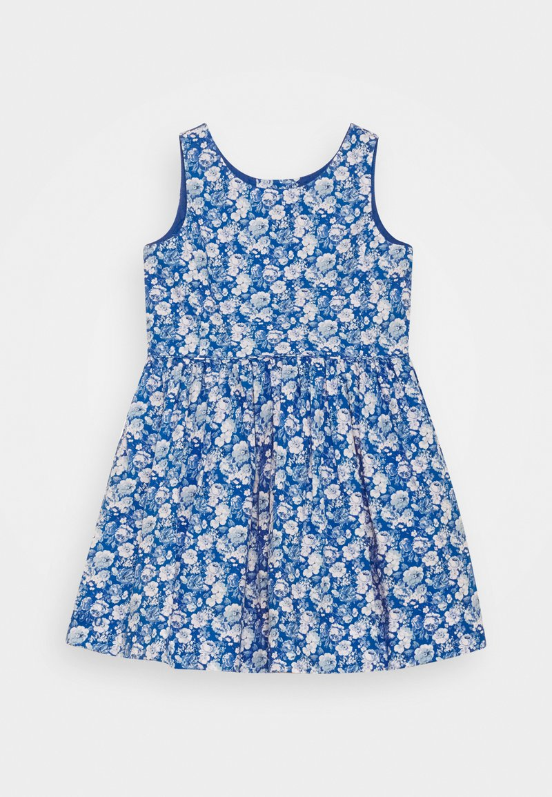 Polo Ralph Lauren - FLORAL DRESS - Denní šaty - blue multi