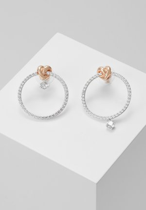 LIFELONG HOOP - Earrings - white