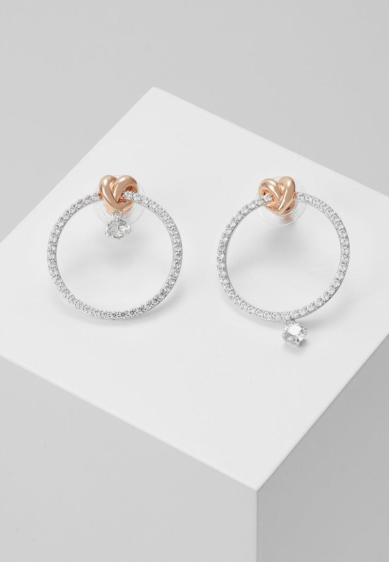 Swarovski - LIFELONG HOOP - Earrings - white
