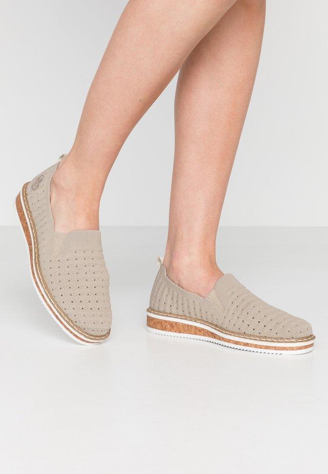 Scarpe senza lacci - cameo/ice