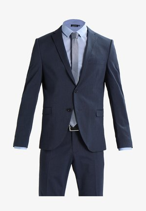 SHDNEWONE MYLOLOGAN SLIM FIT - Garnitur - medium blue melange