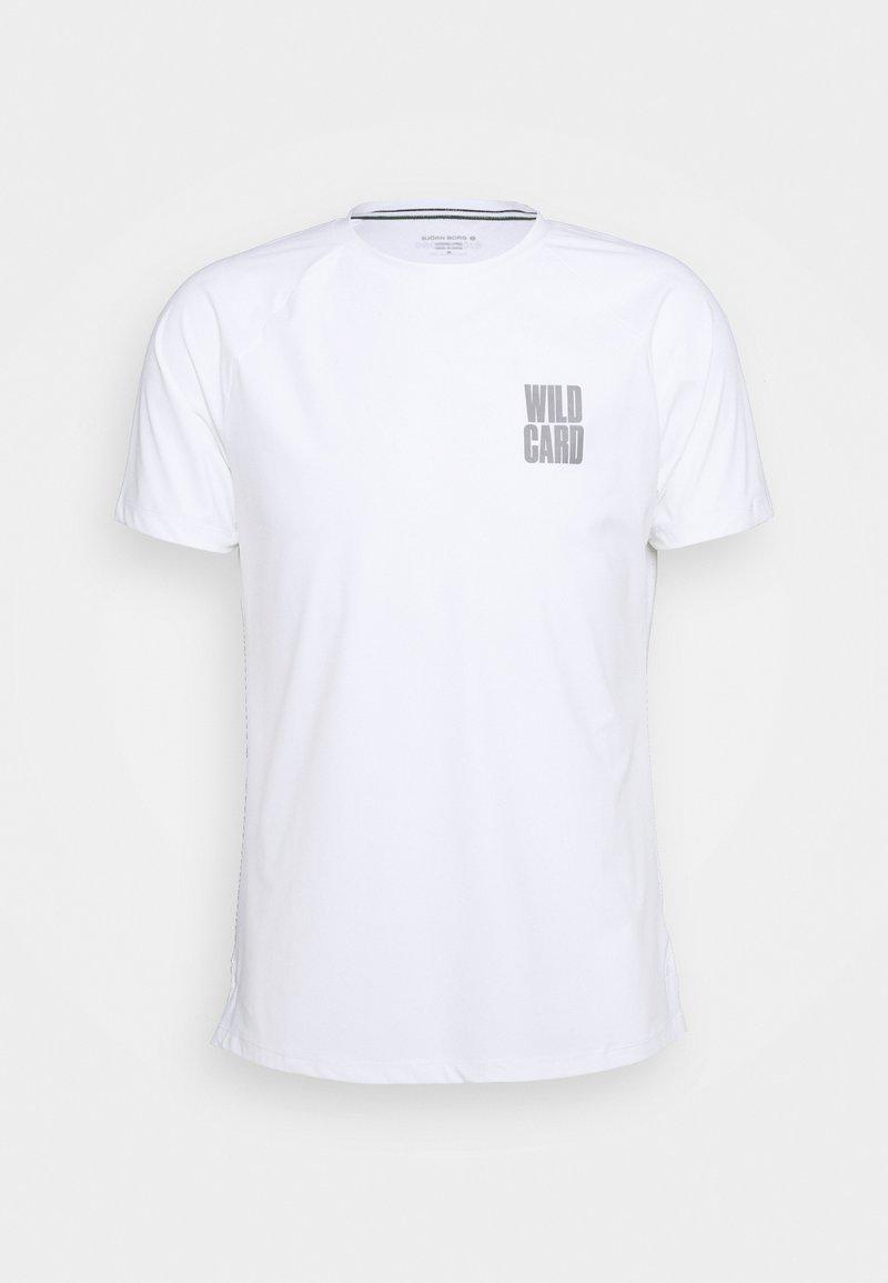 Björn Borg - TREVON TEE - T-shirt print - brilliant white