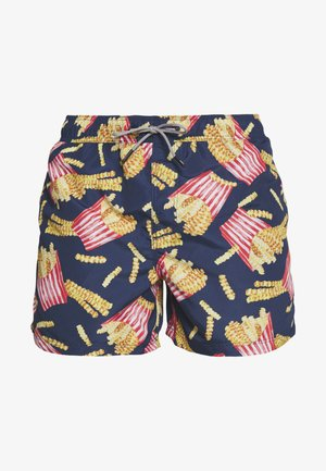 IARUBA FOOD - Swimming shorts - navy blazer