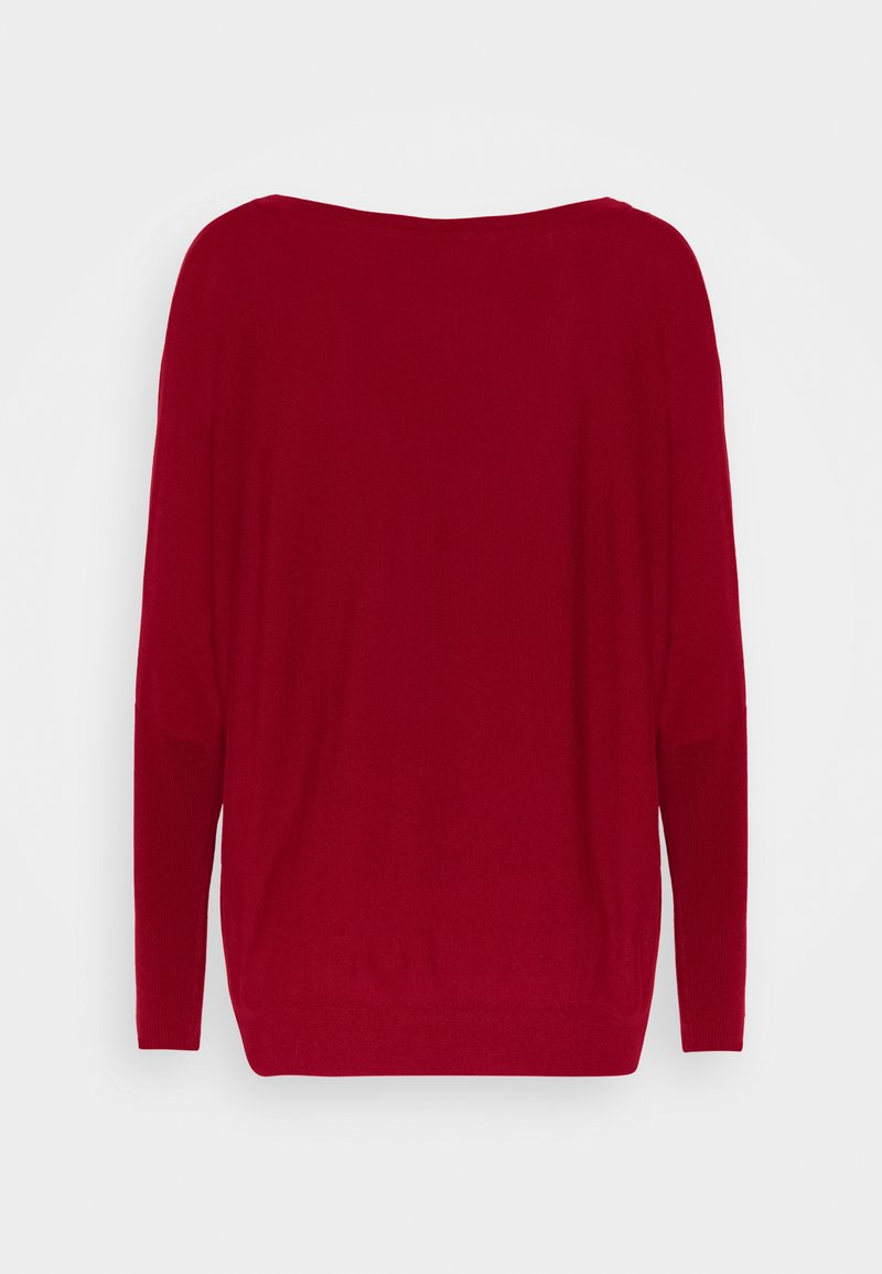 Esprit Collection Strickpullover - dark red/dunkelrot cU7dVG