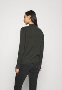 Noisy May - NMPENNY HIGH NECK - Jumper - peat - 2