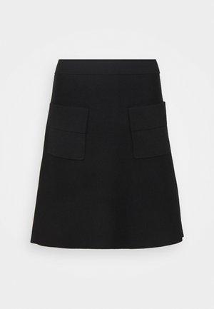 FASHION SKIRT - A-line skirt - black
