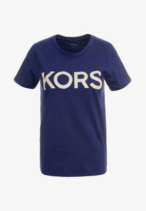 T-shirt con stampa - true navy