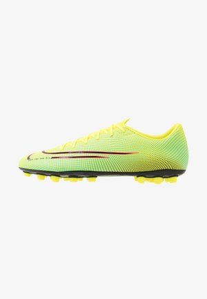 MERCURIAL VAPOR 13 ACADEMY MDS AG - Moulded stud football boots - lemon/black/aurora green
