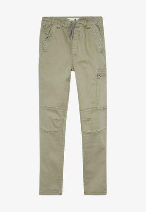 Pantalones cargo - silver sage