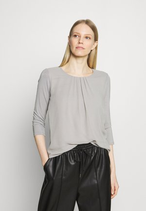 PATCHED - Long sleeved top - new grey