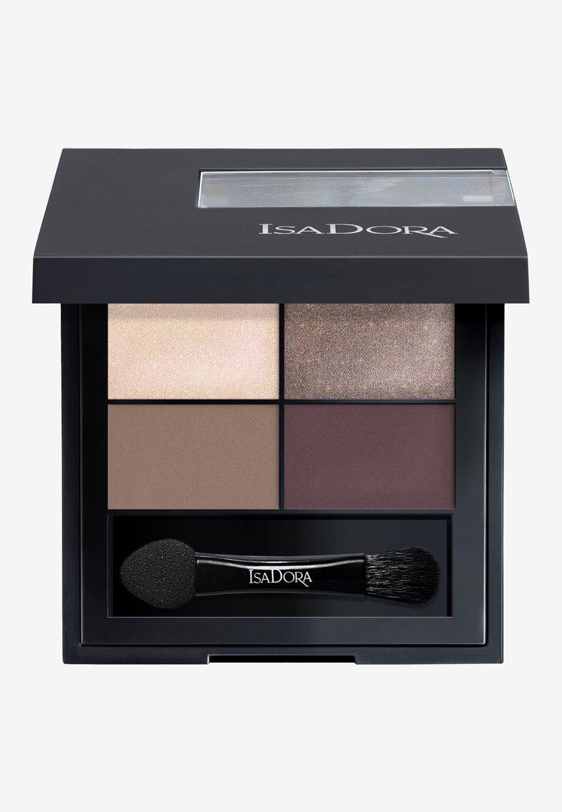 IsaDora - EYESHADOW QUARTET - Eyeshadow palette - chic neutrals
