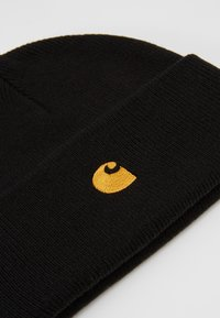 Carhartt WIP - CHASE BEANIE - Pipo - black/gold - 5