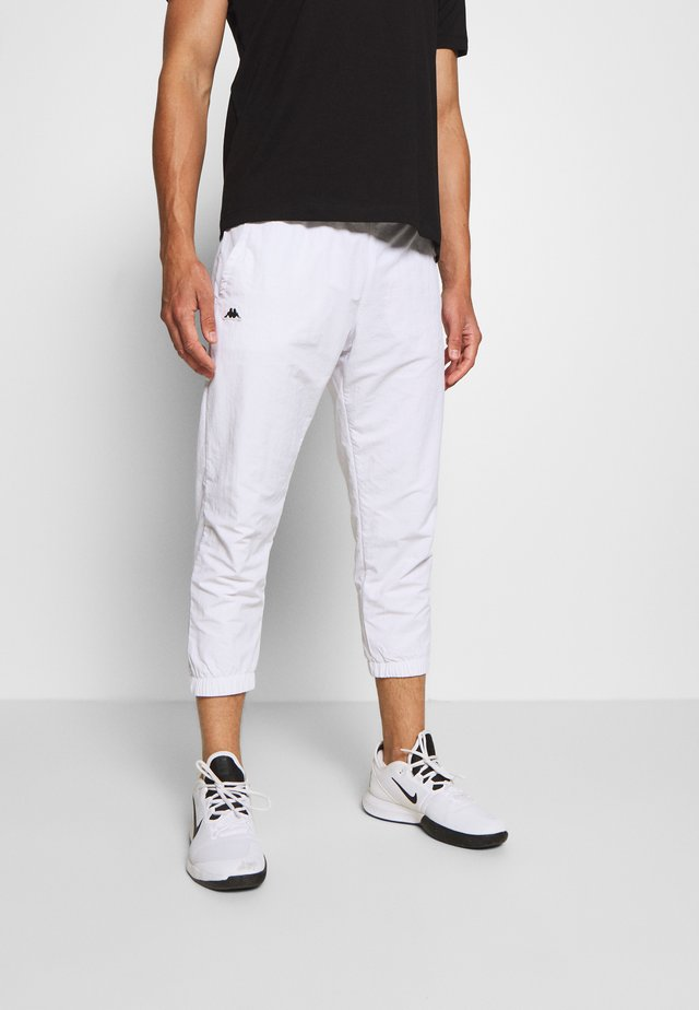 HERMS PANT - Tracksuit bottoms - bright white