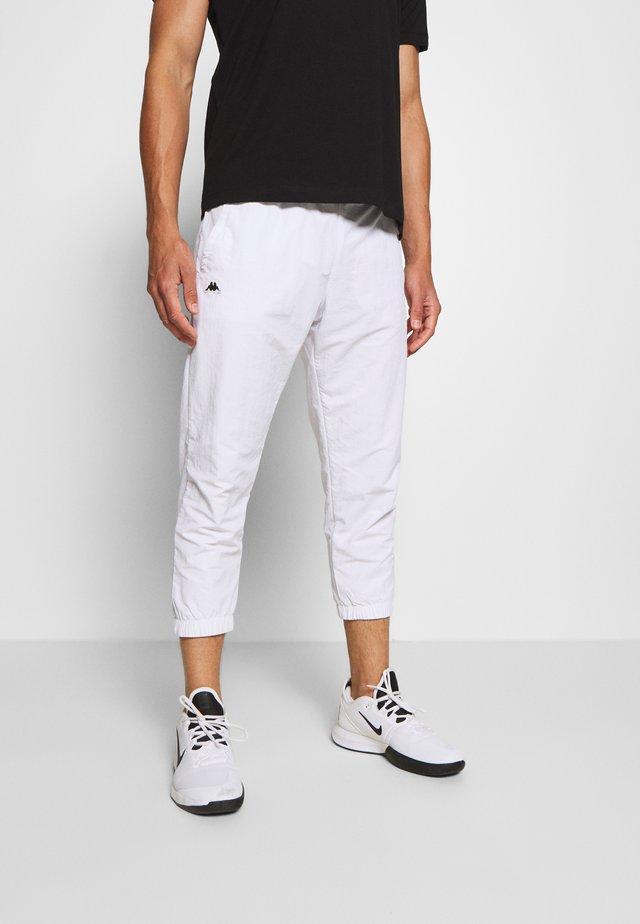 HERMS PANT - Pantalon de survêtement - bright white