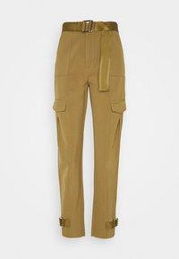 SKUNK TROUSER - Pantaloni cargo - olive