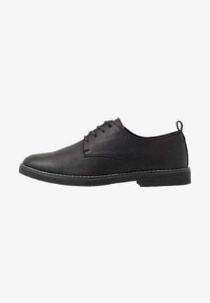 OXFORD - Šněrovací boty - black