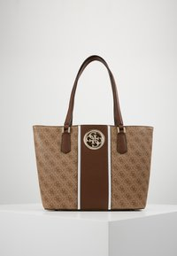 Guess - OPEN ROAD  - Bolso shopping - brown - 0
