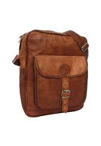 Gusti Leder - ANDIE - Across body bag - brown - 4