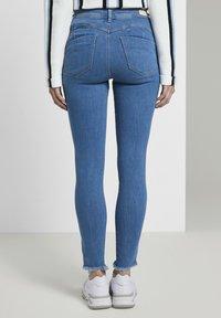 TOM TAILOR DENIM - Jeans Skinny Fit - azure blue denim - 2