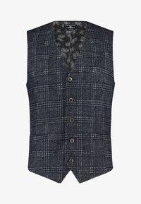 State of Art - Suit waistcoat - dark-blue plain - 0