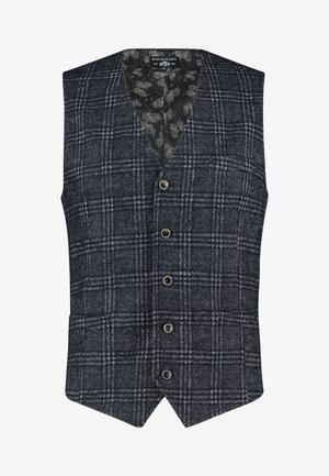 Gilet - dark-blue plain