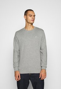 Jack & Jones - JORBASIC CREW NECK 2 PACK - Sweatshirt - dark grey melange - 3