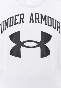 Under Armour - RIVAL TERRY BIG LOGO HD-WHT - Hoodie - onyx white - 5