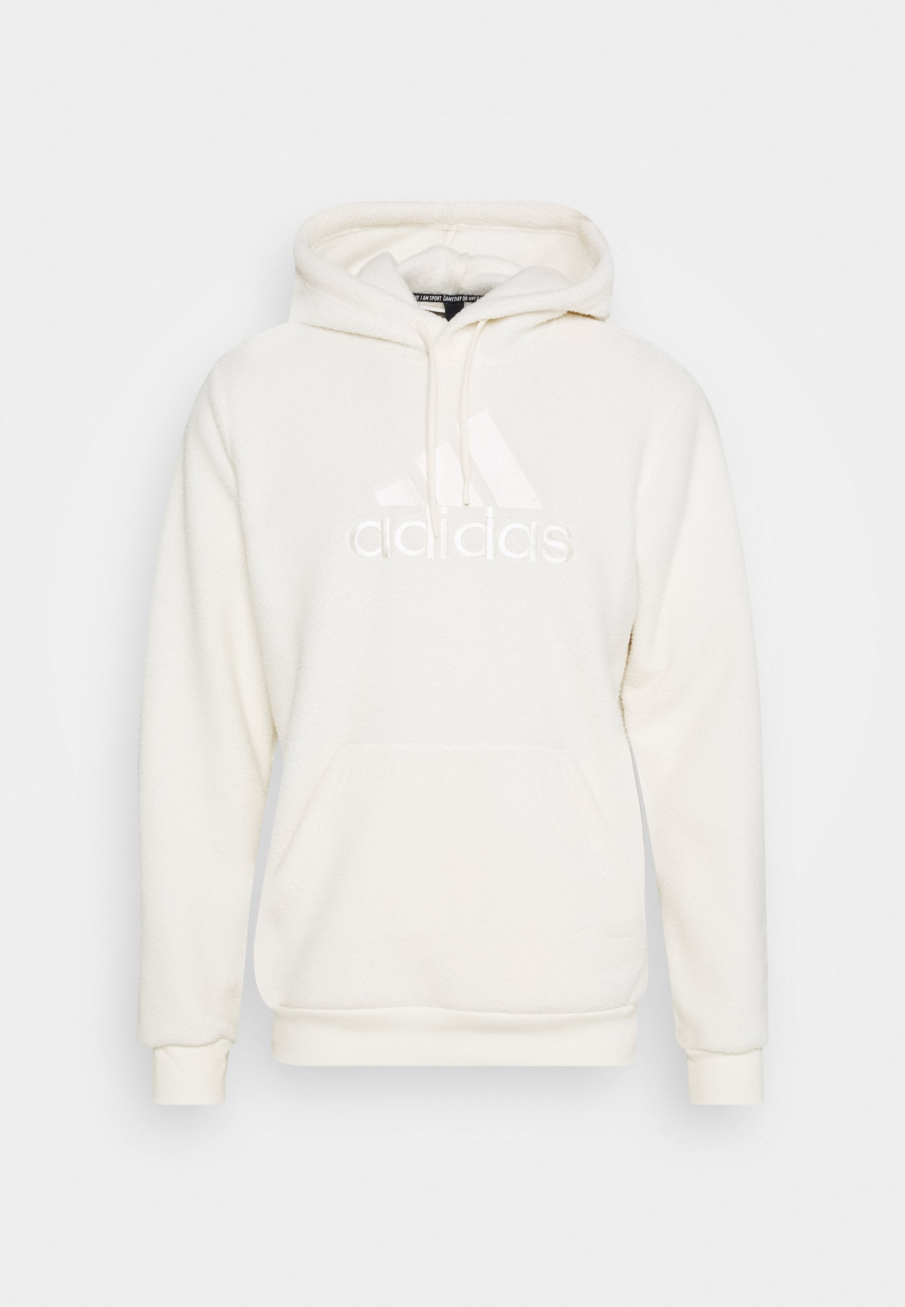 prefacio sector lento  adidas Performance MUST HAVES SPORTS INSPIRED HOODED - Fleece trui - white  - Zalando.be