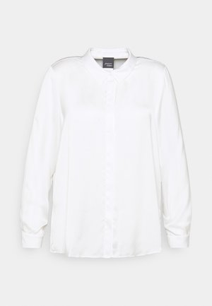 BARI - Button-down blouse - white