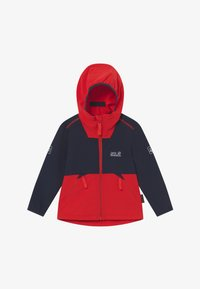 Jack Wolfskin - TURBULENCE BOYS - Soft shell jacket - peak red - 2