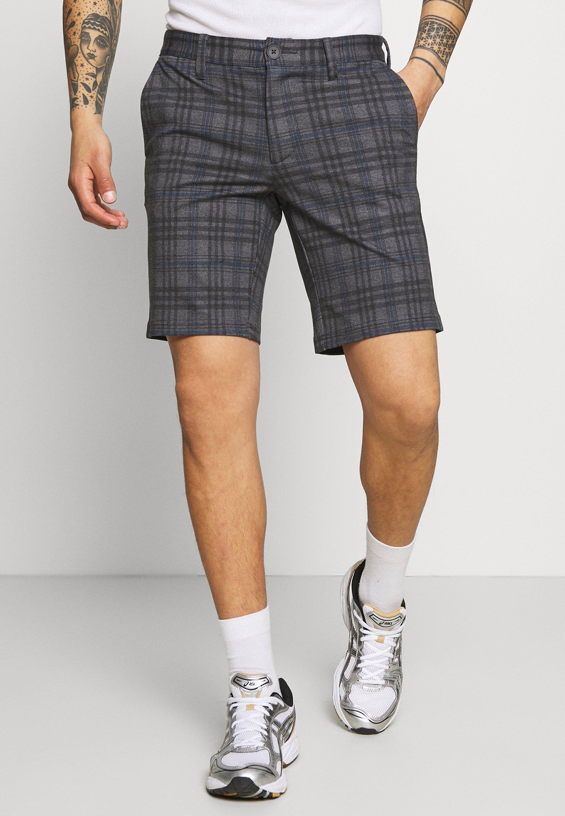 Men ONSMARK CHECK - Shorts