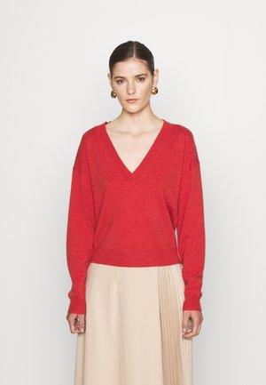 COLORE - Maglione - mattone rosso