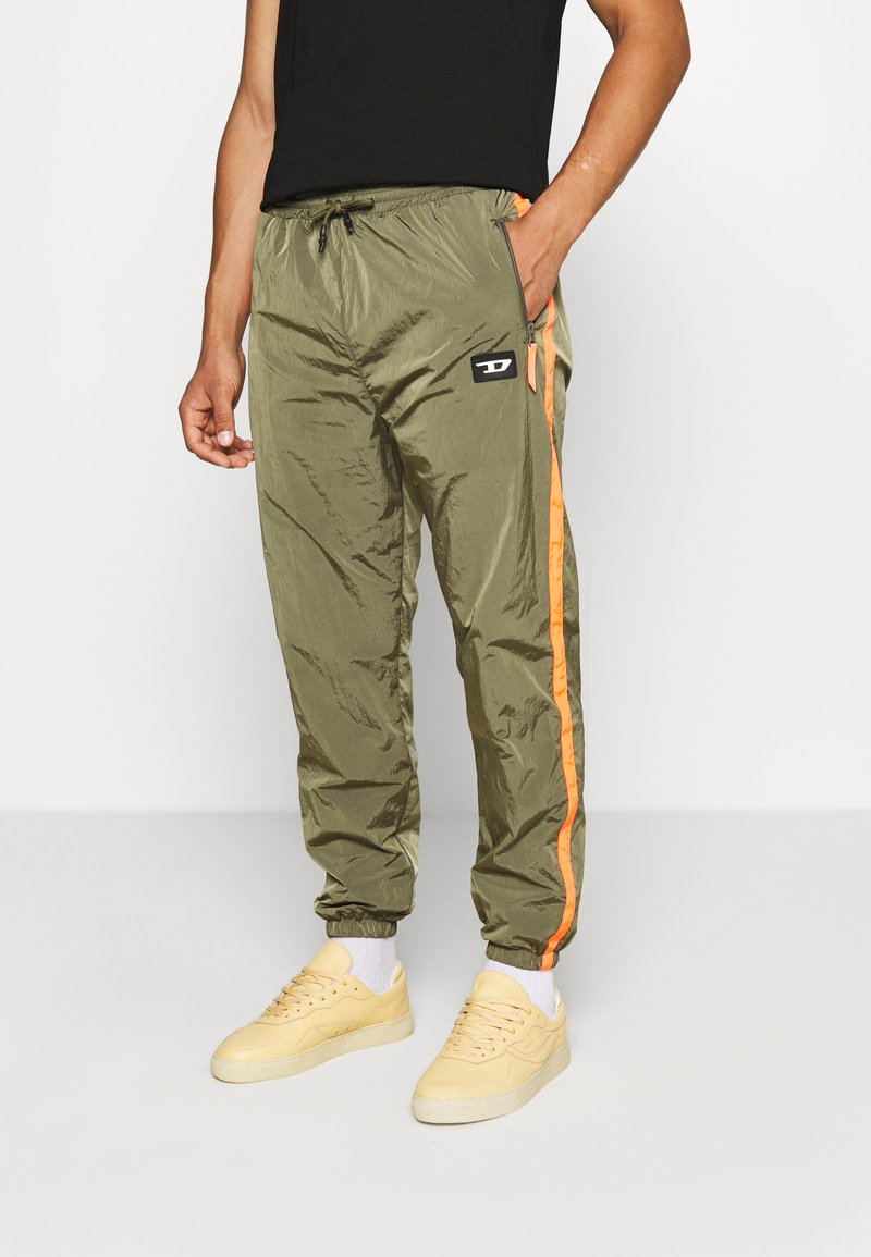 Diesel - DARLEY TROUSERS - Trainingsbroek - olive