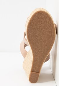 ONLY SHOES - ONLAMELIA WRAP  - High heeled sandals - nude - 6