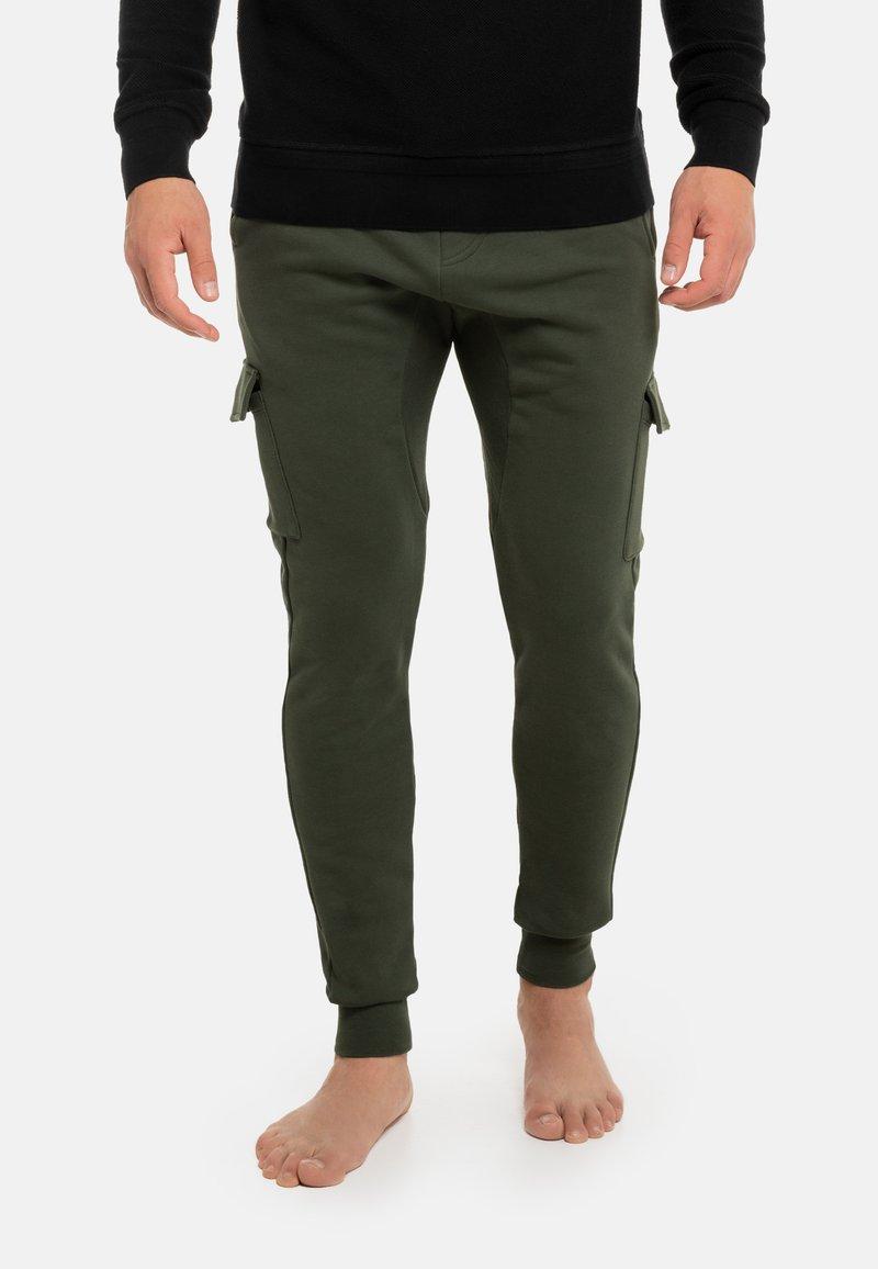 Schiesser Revival - Cargo trousers - grün