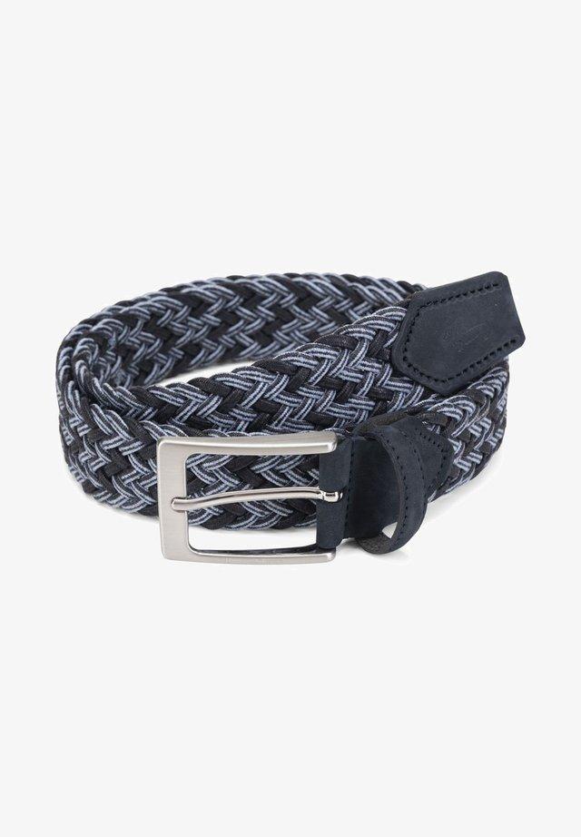 Cintura intrecciata - blu scuro