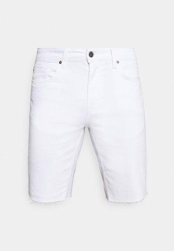 ONSPLY LIFE  - Denim shorts - white denim