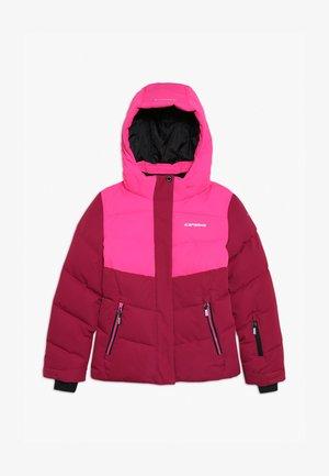 LILLE - Winter jacket - bordeaux/pink