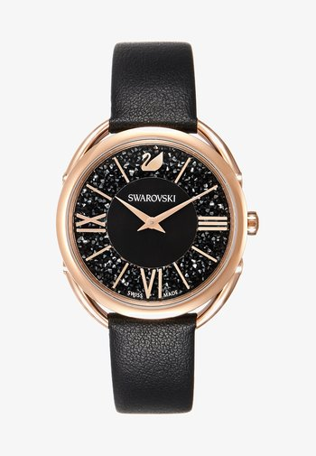GLAM - Watch - rosegold-coloured/black