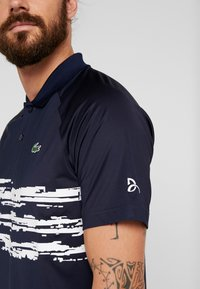 Lacoste Sport - TENNIS POLO DJOKOVIC - Polo shirt - navy blue/white - 4