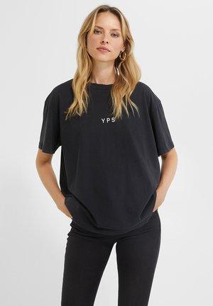 I'M A POET PRIA - T-shirt print - vintage black