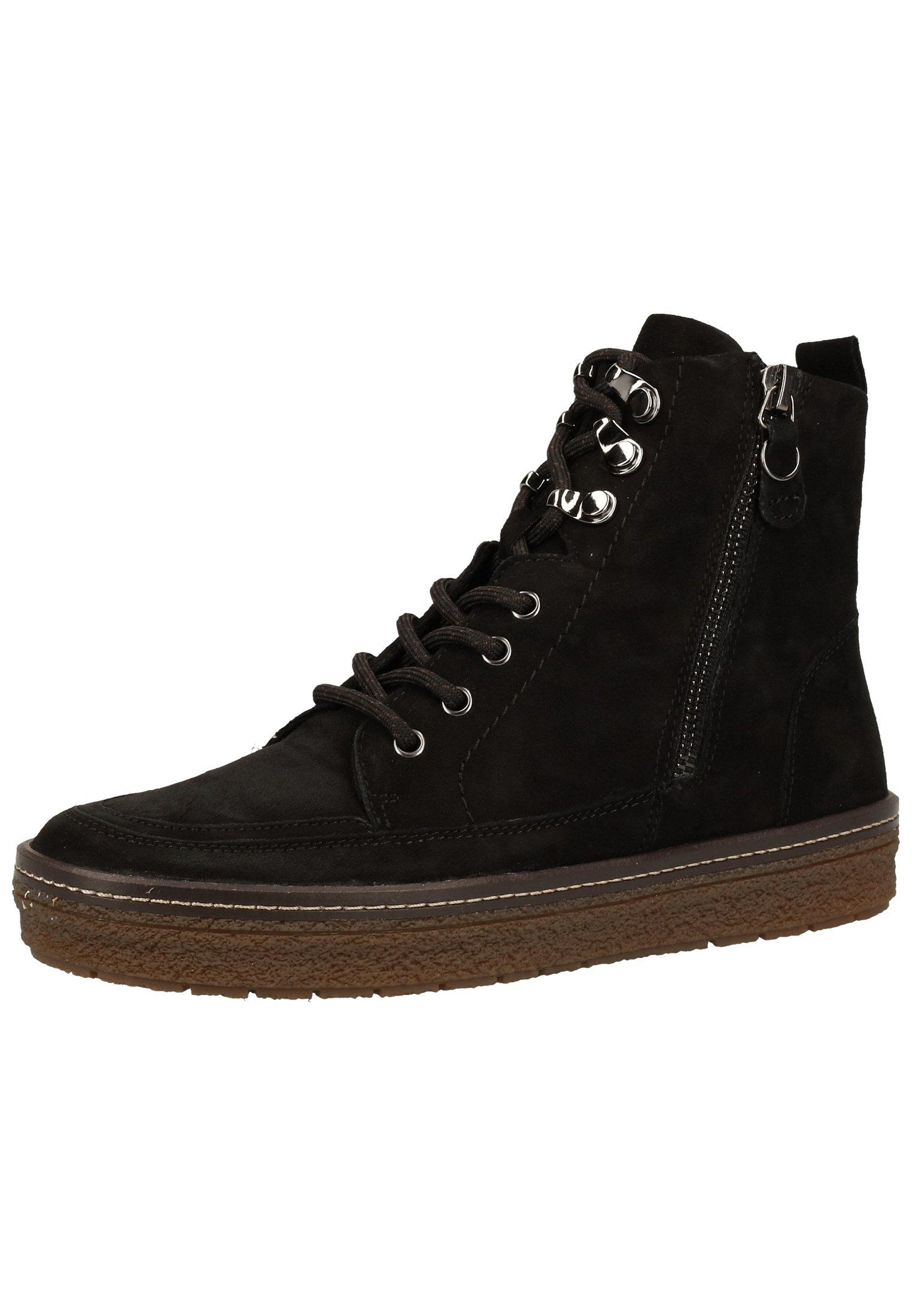 Caprice Ankle Boot black suede 004/schwarz