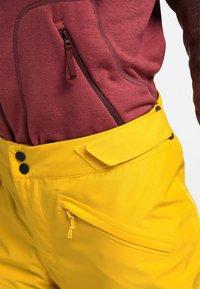 Haglöfs - LUMI FORM PANT - Snow pants - pumpkin yellow - 5