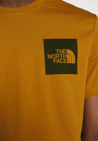 The North Face - FINE TEE - Print T-shirt - timber tan - 5