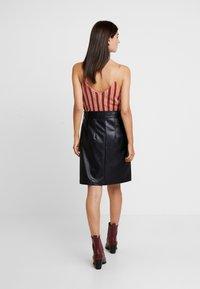 Aaiko - PATIA - A-line skirt - black - 2