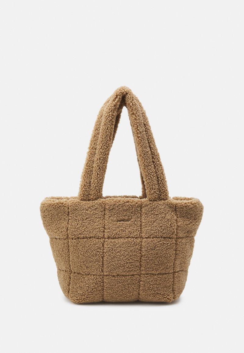 DKNY - POPPY TOTE - Handbag - natural
